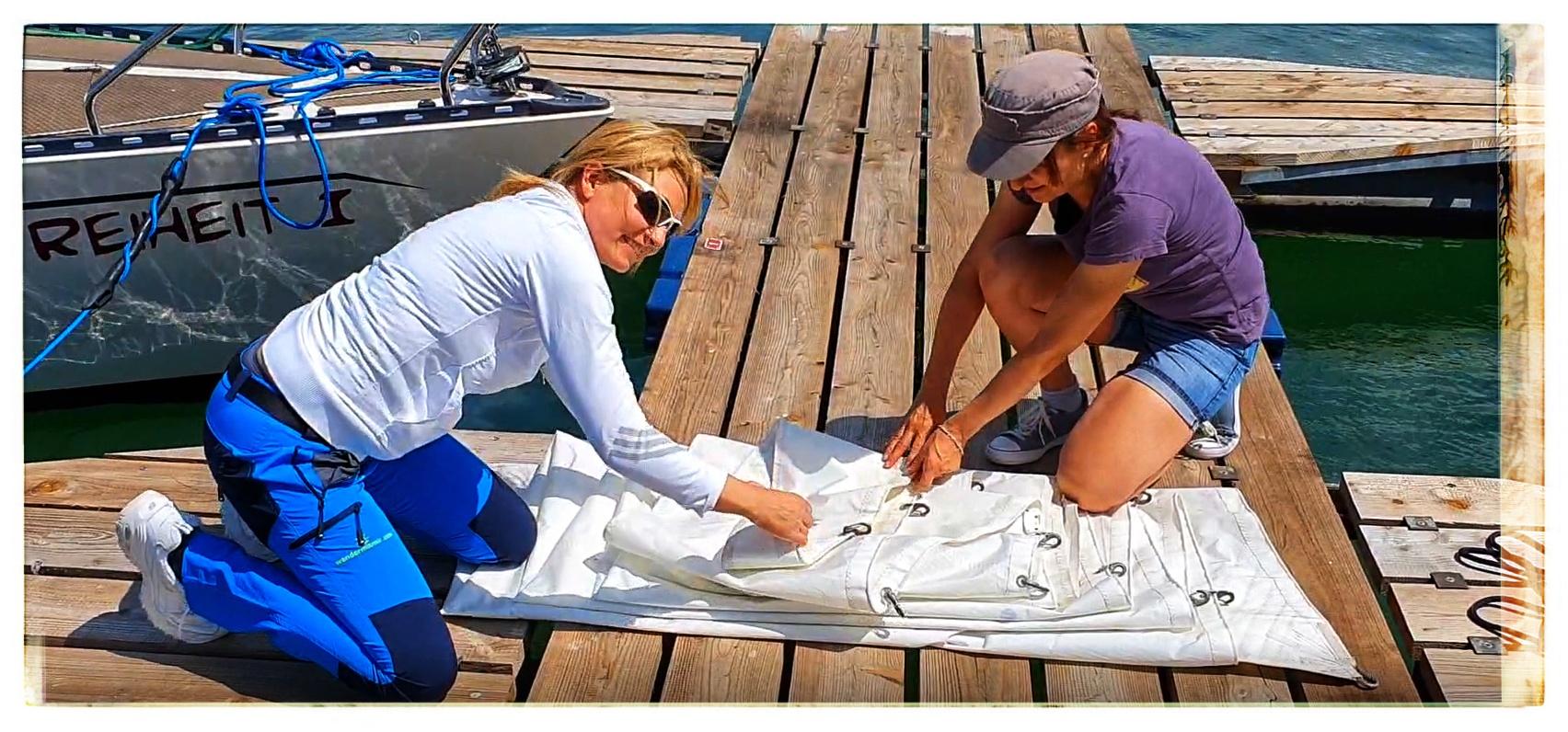 segeln lernen auf dem sorpesee